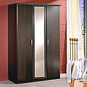 Amos Mann furniture Venice 3 Door Wardrobe - Wenge