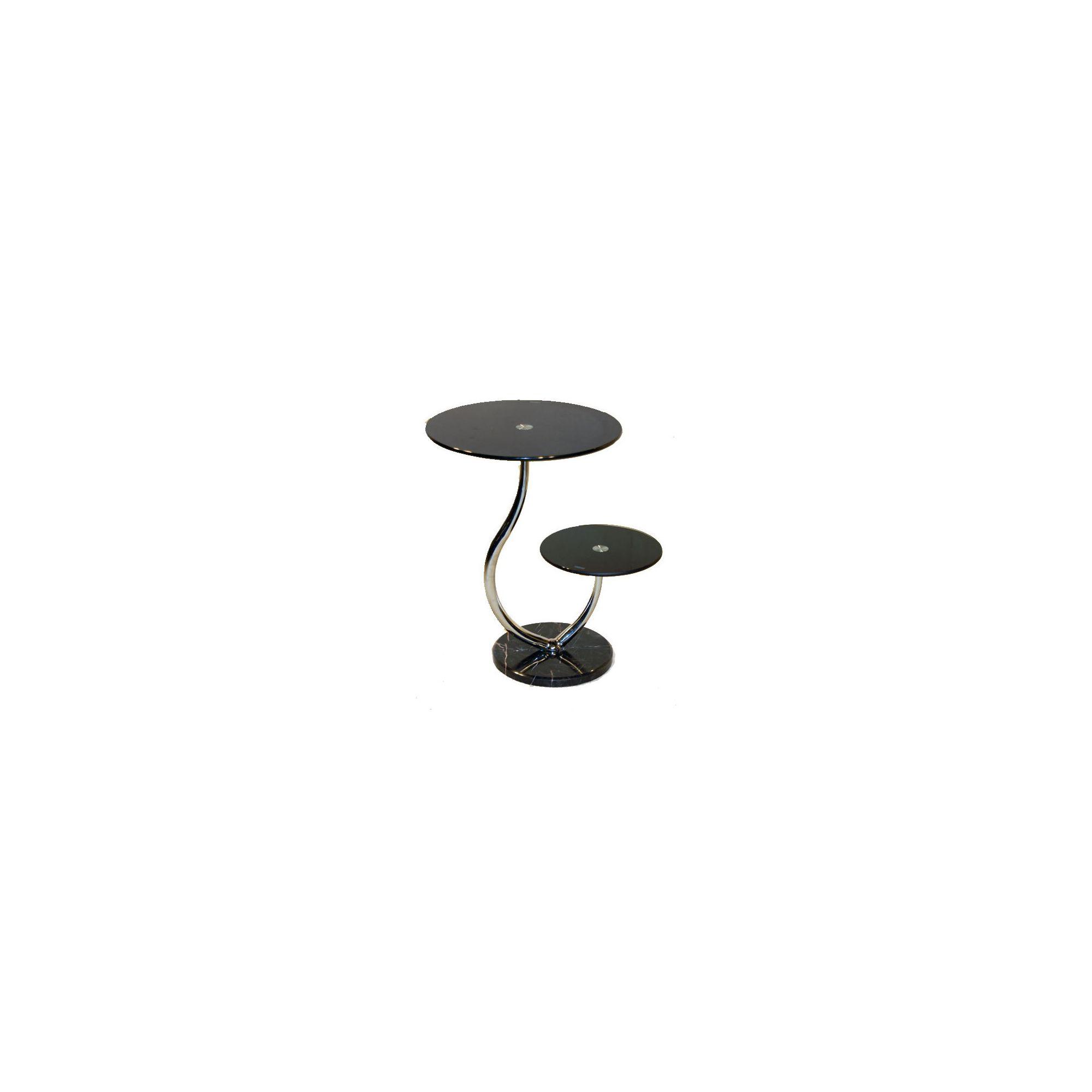 Other Set of 2 Oxshott Black Lamp Tables