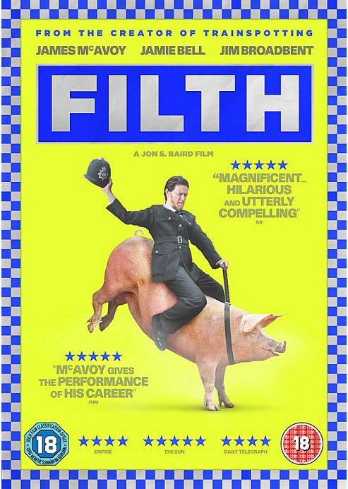 Filth - DVD