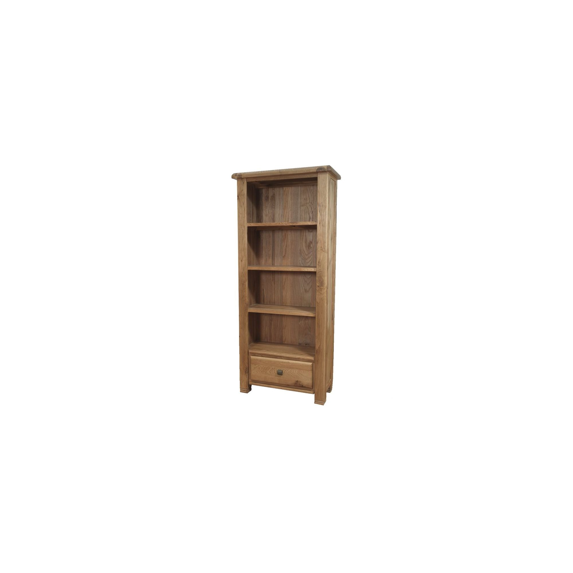 Furniture Link Danube Bookcase in Weathered Oak at Tesco Direct