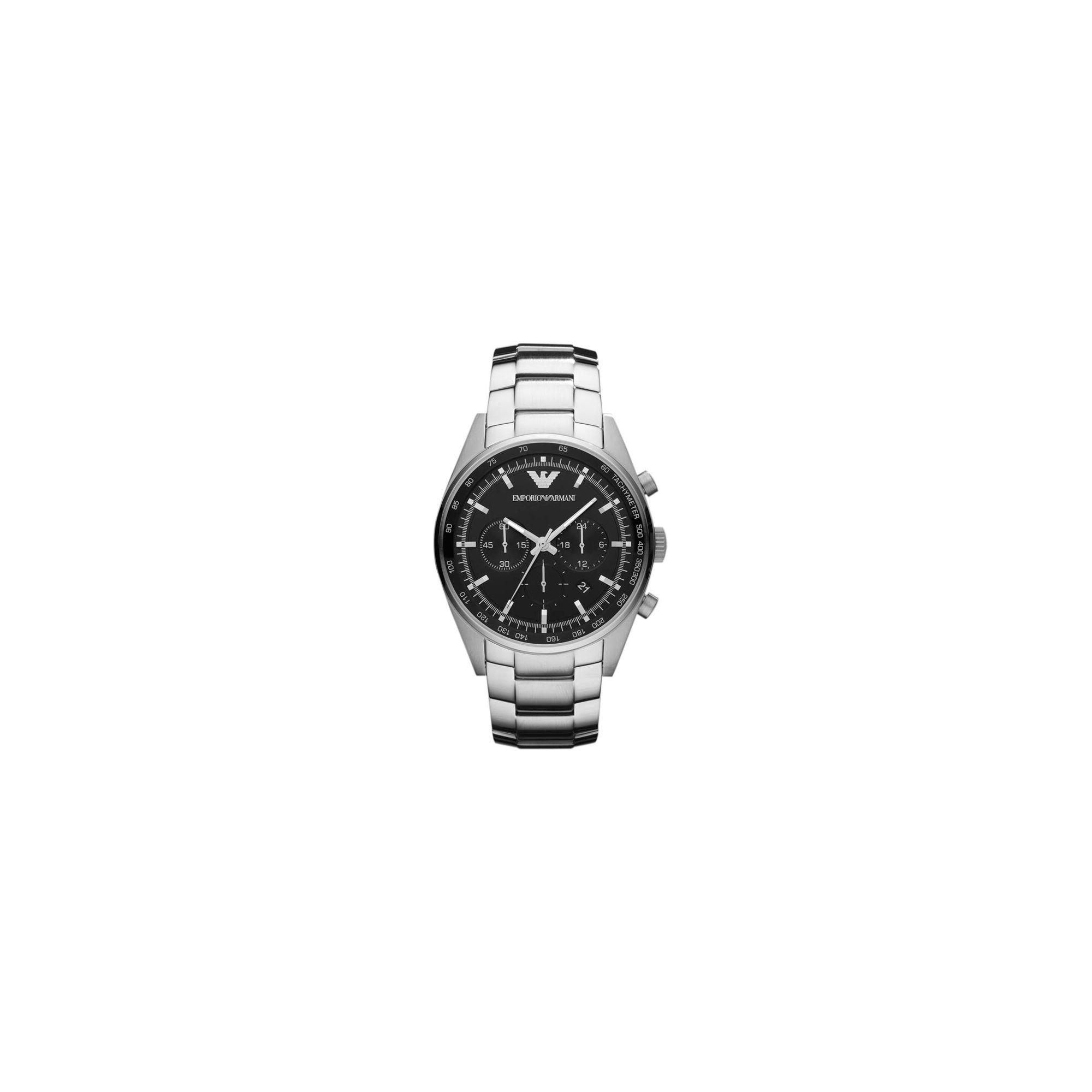 Emporio Armani Chrono Watch AR0673 at Tesco Direct