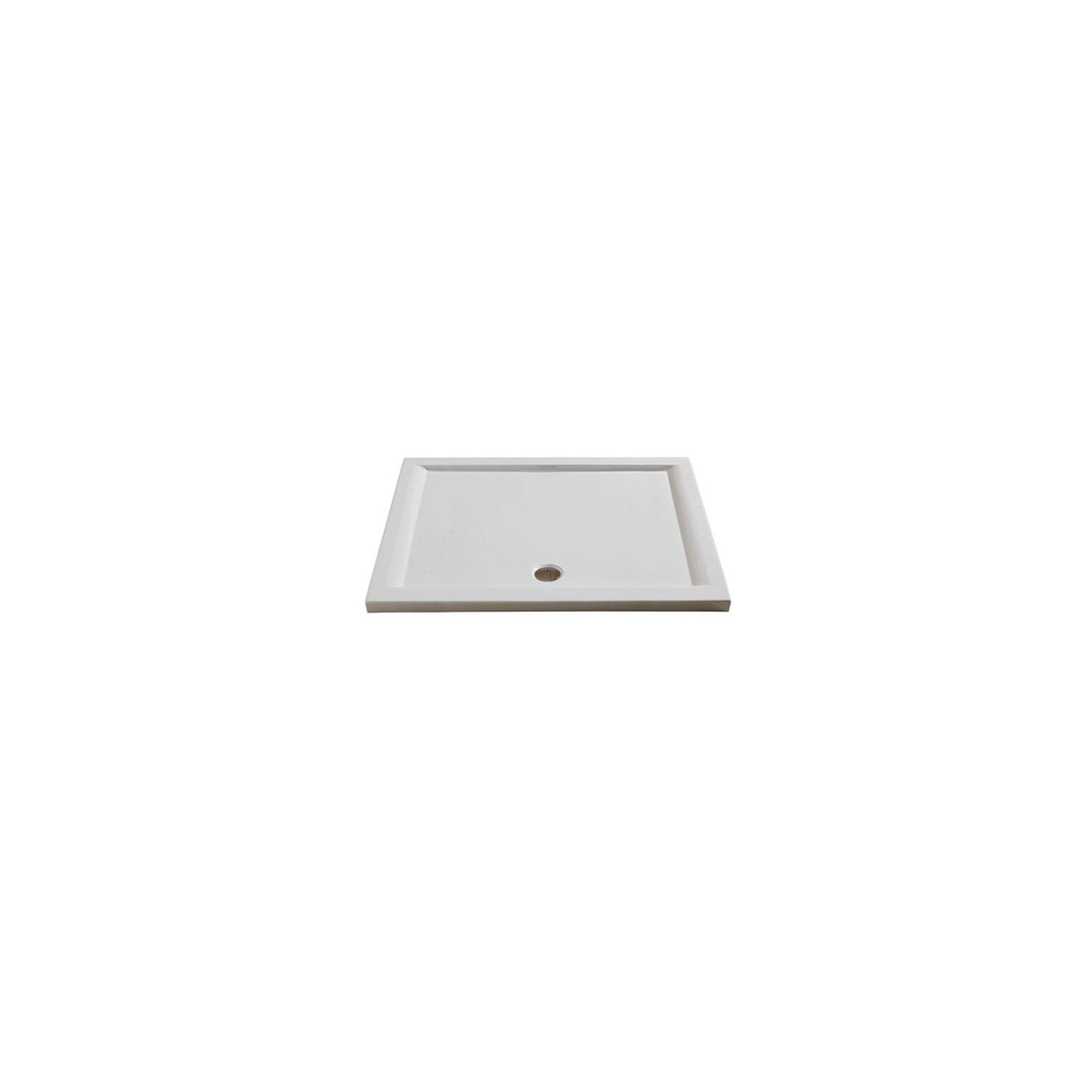 Merlyn Merlyte Low Profile Rectangular Shower Tray, 1600mm x 900mm at Tesco Direct