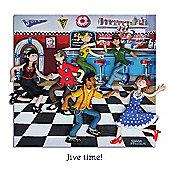 Holy Mackerel Jive time! Greetings Card