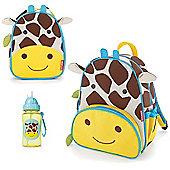 Skip Hop Zoo Backpack & Lunch Bag & Drinks Bottle - Giraffe