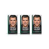 Just for Men Hair dye Dark Brown Black Pack of 3