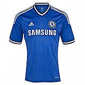 2013-14 Chelsea Adidas Home Football Shirt - Blue