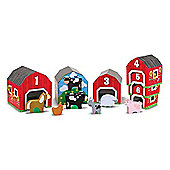 Melissa and Doug Nesting and Sorting Barns and Animals