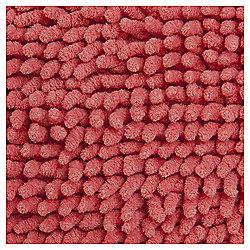 Microchenille Bobble Bathmat Coral