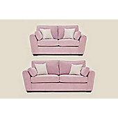 Sofia 3+2 Sofa Set Lilac