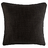 Textured Plain Cushion 43 x 43cm, Charcoal