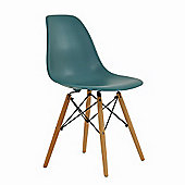 Eames DSW Replica Dining Chair Marine Blue