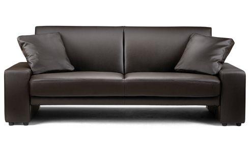 Julian Bowen Supra Sofa Bed in Brown