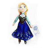 Disney Frozen Talking Anna Soft Toy
