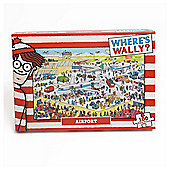 Wheres wally kids puzzle Aiport 100pc
