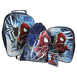 Marvel Spider-Man 4-Piece Kids' Luggage Set