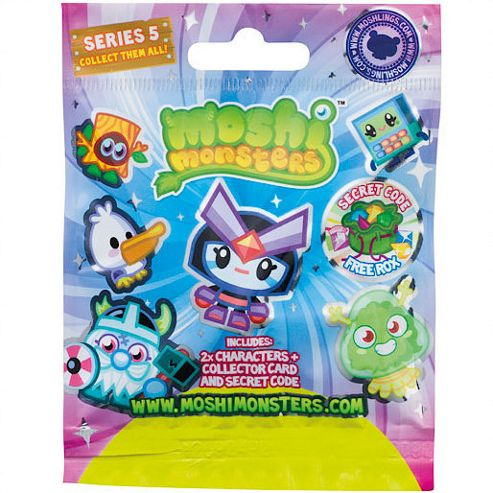 Moshi Monsters Blind Bags Series 5
