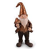 Boris the Large Gold Coloured Christmas Elf Ornament