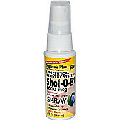 Natures Plus Shot O B12 Lipoceutical Spray 5000mcg 2 Spray