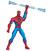 The Amazing Spiderman Web Battlers Spinnin Staff Spider-Man Figure
