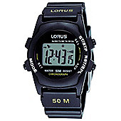 Lorus Gents Digital Strap Watch R2359AX9