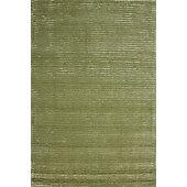 Hill & Co Jubilee Green Stripe Rug - 180cm x 120cm (5 ft 11 in x 3 ft 11 in)