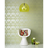 Graham & Brown Hula Wallpaper - Soft Green