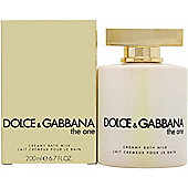 Dolce & Gabbana The One Bath Milk 200ml