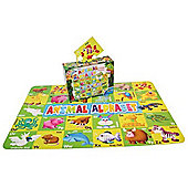 Grafix Giant 30 Piece Animal Alphabet Floor Puzzle