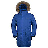 Mountain Warehouse Antarctic Extreme Mens Down Jacket - Electric blue