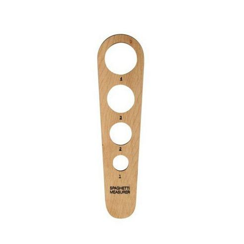 T & G Solid Beech Wooden Spaghetti Measure
