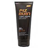 Piz Buin 1 Day Long Lotion 200ml SPF 30