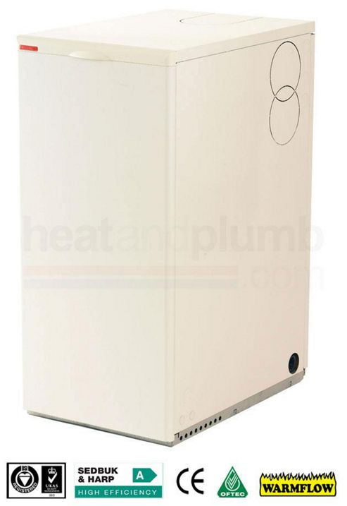 Warmflow U-SERIES Kitchen / Utility Condensing Conventional Oil Boiler 26-33kW