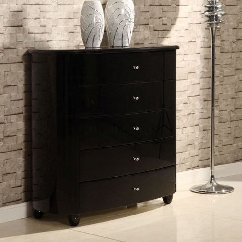 Birlea Aztec Chest - Black