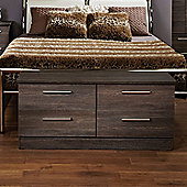 Welcome Furniture Contrast 4 Drawer Chest - Panga