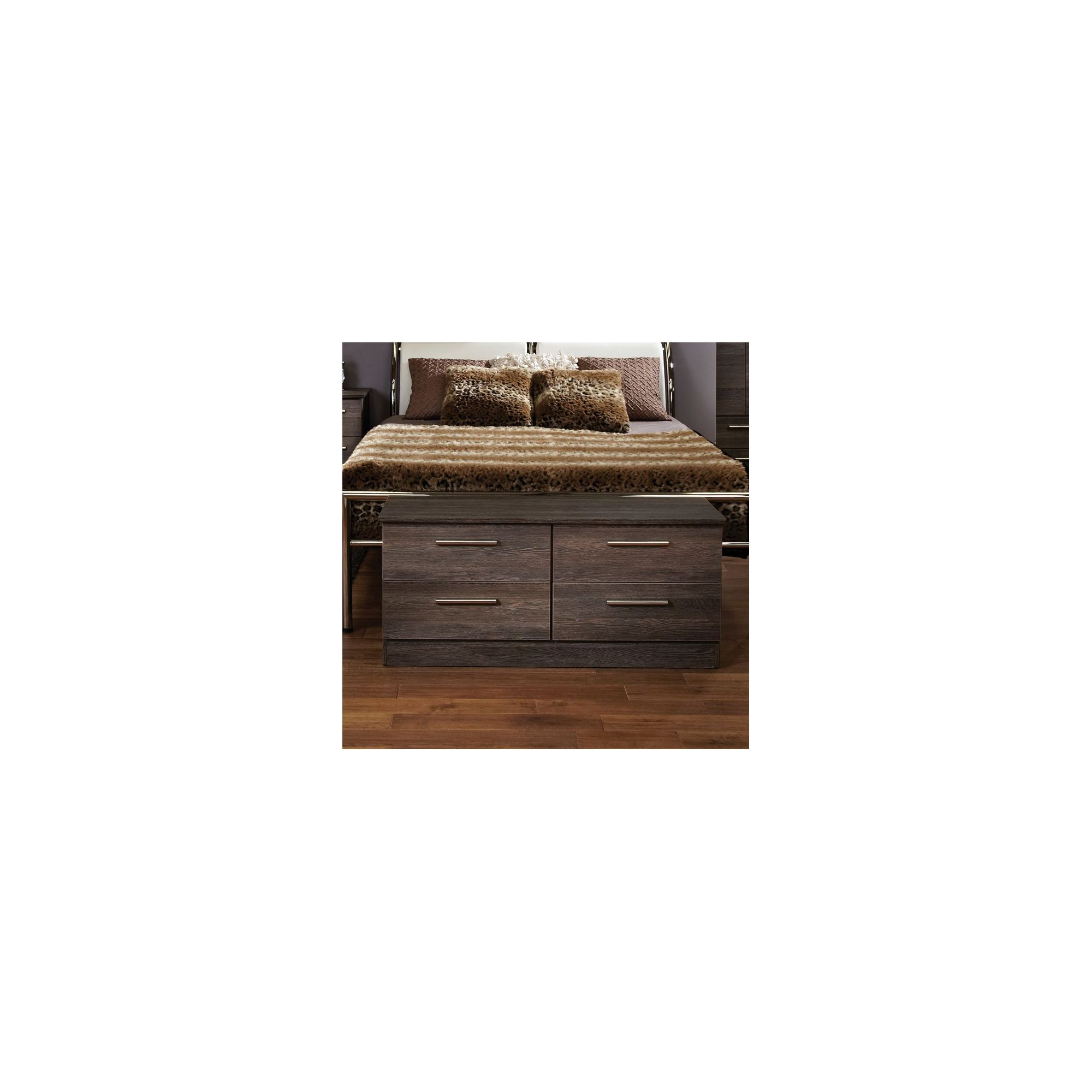 Welcome Furniture Contrast 4 Drawer Chest - Panga at Tesco Direct
