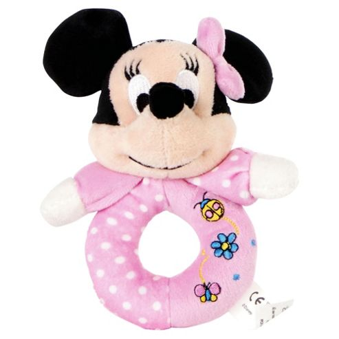 Minnie Ring Rattle