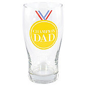Champion Dad Pint Glass