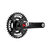 SRAM X0 Chainset - GXP - 2x10 - 170mm - Red - All Mountain Guard - 36-22 (Excludes BB)