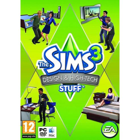 The Sims 3 - Design And High-Tech Stuff