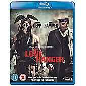 Lone Ranger (2D Blu-ray)