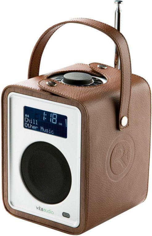 RUARK AUDIO CARRYPACK PROTECTIVE CASE FOR R1 MkII DAB/DAB+/FM ALARM RADIO (TAN LEATHER)