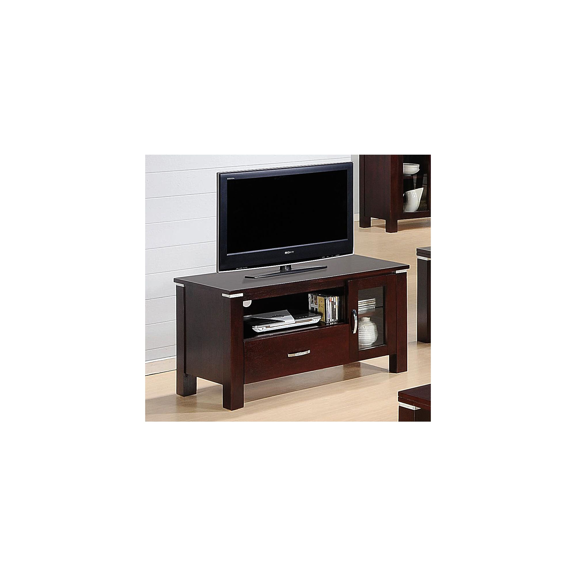 Heartlands Furniture Spartan Wooden TV Cabinet for LCDs at Tesco Direct