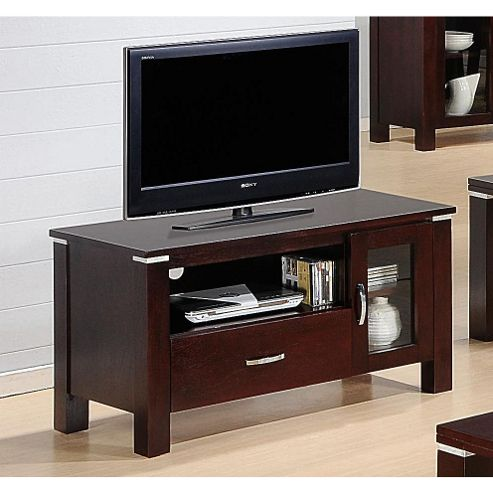 Heartlands Furniture Spartan Wooden TV Cabinet for LCDs