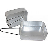 Yellowstone Lighweight Aluminium Mess Tins - 2 Pack