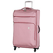 IT Luggage Megalite 4-Wheel Suitcase, Pink Extra Large