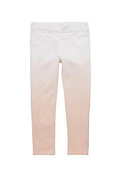 F&F Dip Dye Trousers - Pink & White