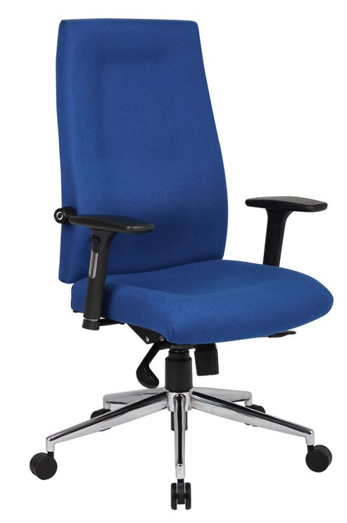 Office Basics Mode Fabric Manager Chair - Blue