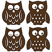 Owl Silhouette Wall Stickers