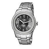 Esprit Gilamonza Ladies Stainless Steel Date Stone Set Watch ES105432005