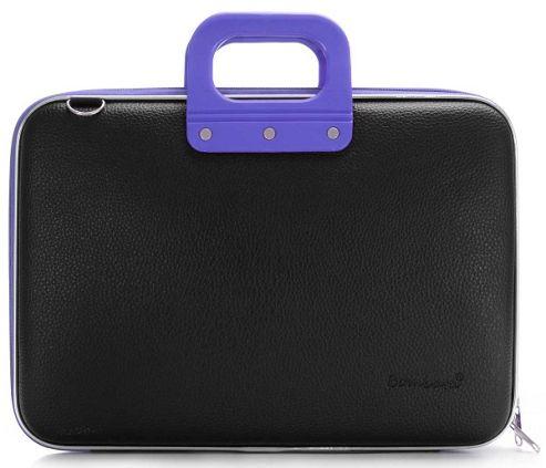 Bombata Blackline Black and Violet 15 inch Laptop Case